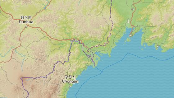 Rusko má s KLDR asi 15 kilometrů dlouhou hranici