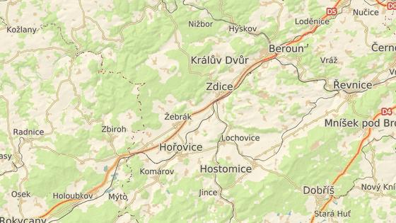 Neštěstí se stalo v obci Žebrák na Berounsku.