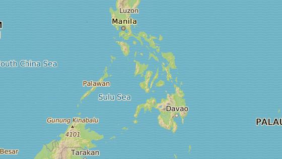 Ostrov Sulu, kde byly nalezeny pozůstatky zavražděného Němce.