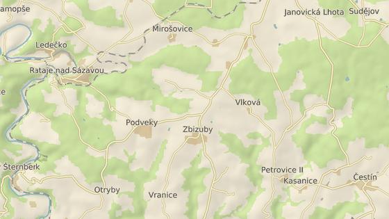 Mladý spolujezdec přišel o život nedaleko Zbizub na Kutnohorsku.