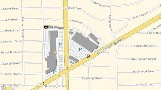 Obchodní centrum, kde se střílelo, leží v rezidenční čtvrti jihozápadně od centra Houstonu.