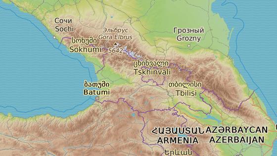 Gruzínské město Gori je rodištěm Stalina