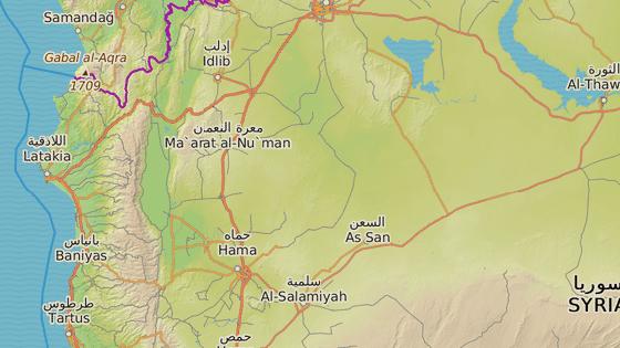 Místa pondělních sebevražedných útoků - přístavy Džabla a Tartús