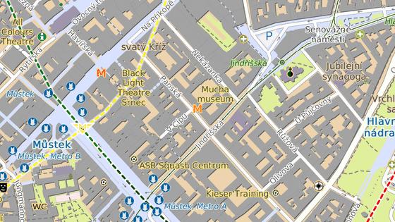 Ulice Panská bude v úseku mezi ulicemi V Cípu a Jindřišská obousměrná.