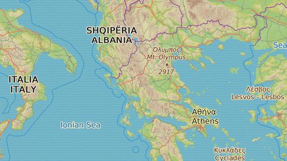 Vlak havaroval na trase Atény-Soluň