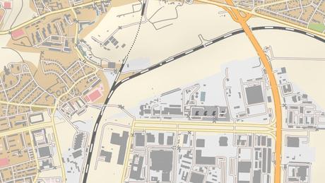 Překladiště má vzniknout mezi průmyslovou zónou a silnicí v ulici Průmyslová.