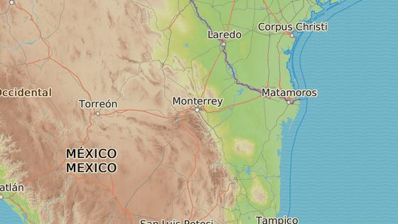 Škola, kde se střílelo ve městě Monterrey