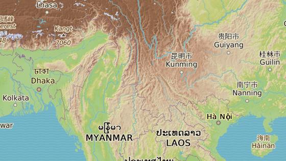 Kačin, Barma