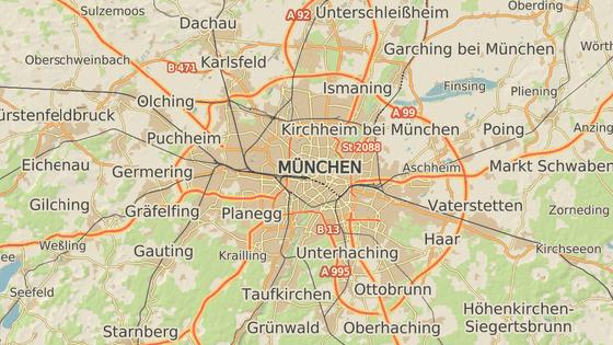 Čtvrť Moosah v Mnichově