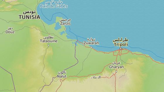 M�sto Sabr�ta, kde v p�tek �to�ily americk� letouny.