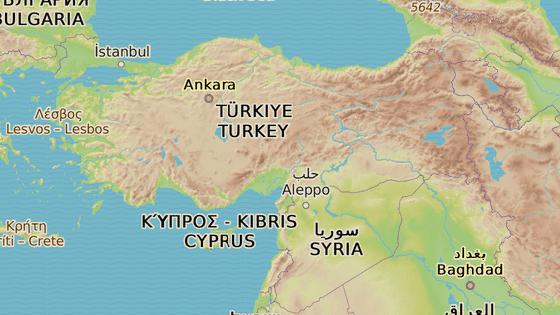 Město Gaziantep leží asi 64 kilometrů od hranic se Sýrie, nedaleko syrského Aleppa