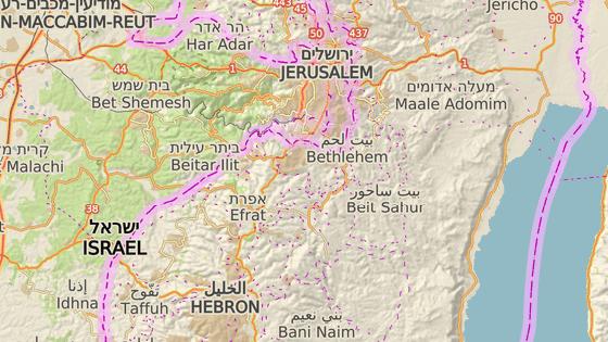 Sair, Západní břeh Jordánu