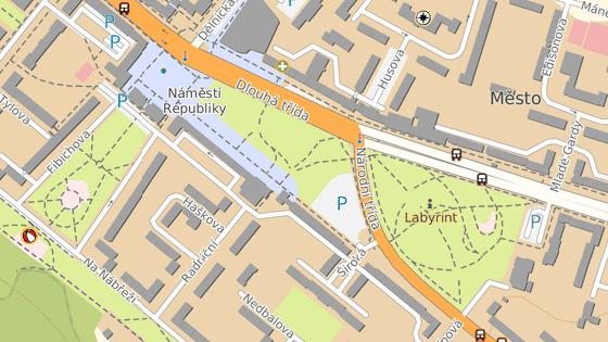 Zlatnictví stojí v centru Havířova.