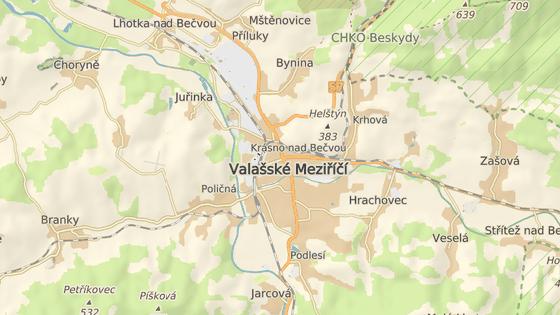 Křižovatka ve valašskomeziříčské části Krásno nad Bečvou patří mezi mimořádně rušné.