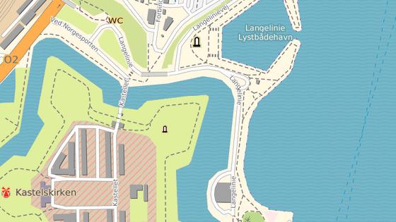 Socha Malé mořské víly se nachází v Kodani