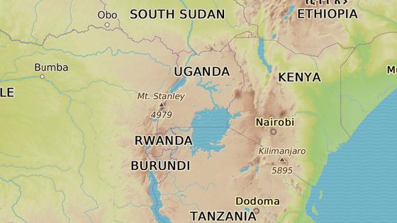 Oblast Kanungu leží na západě Ugandy u hranic s Demokratickou republikou Kongo.