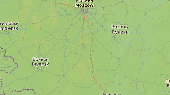 Město Tula v Rusku