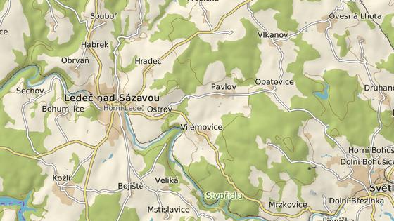 Oprava mostu znemožní příjezd do Ledče nad Sázavou od Havlíčkova Brodu a Světlé.