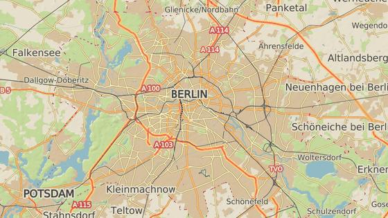 Čtvrť Steglitz se nachází na jihozápadě Berlína