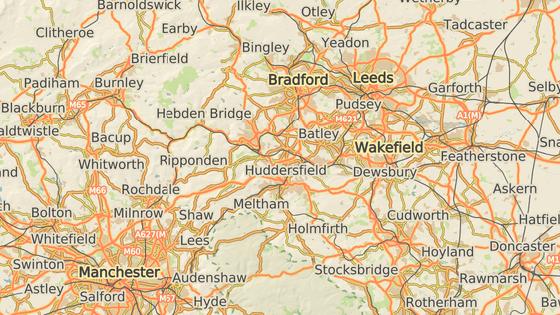 Birstall se nachází nedaleko britksého Leedsu