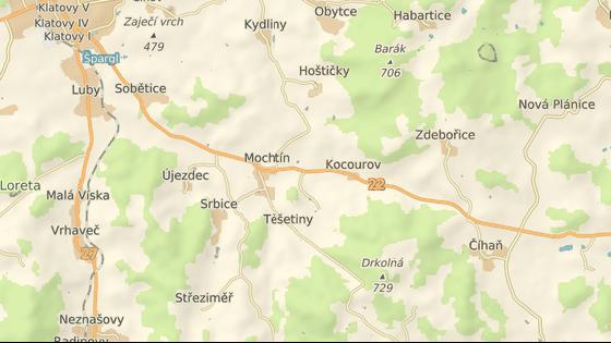 Nehoda se stala v části Mochtína zvané Nový Čestlín.