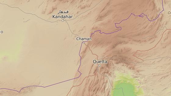 Pákistánské město Kvéta se nachází u hranic s Afghánistánem.