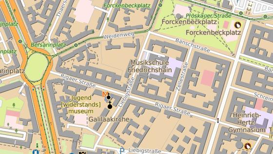 Nejtvrdší střety se odehrály v berlínské čtvrti Friedrichshain v ulici Rigaer.