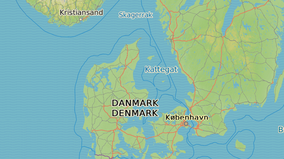 Birkelse, Dánsko