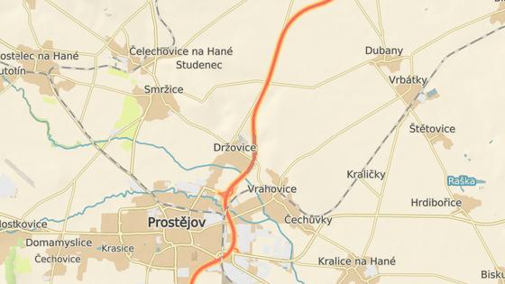 Cisterna havarovala mezi exitem Držovice a Olšany na Prostějovsku.