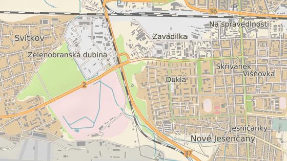Motoristům se uzavře sjezd od Chrudimi či Hradce Králové směrem k sídlišti Dukla a závodišti a opačně.