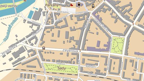 Nehoda se stala v Písku na křižovatce ulic Nádražní a Zeyerova.