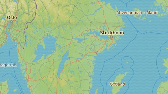 Incident se odehrál ve švédské Uppsale