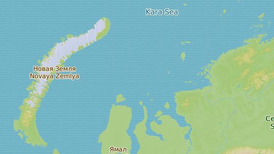 Ostrov Belyj, Rusko