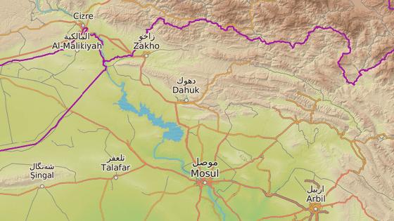 Město Dahuk, kde začne fungovat vzdělávací centrum pro psychology, se nachází na severu Iráku