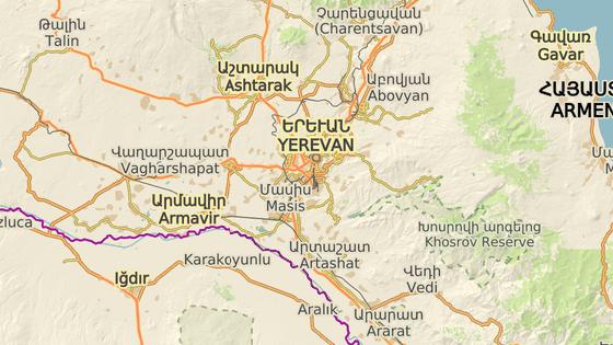 Žena žije v arménském Jerevanu