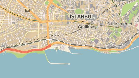 Čtvrť Aksaray v Istanbulu