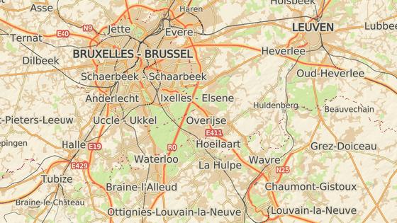 Město Wavre se nachází  nedaleko Bruselu