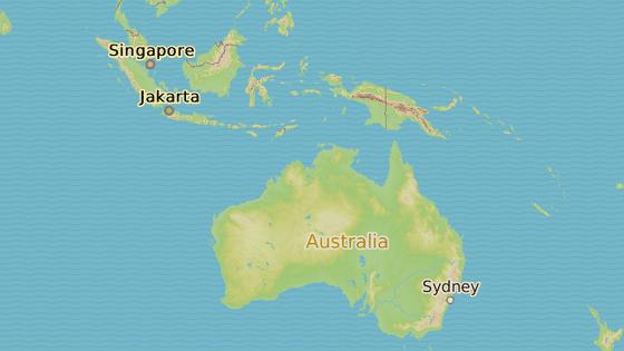 Ostrovní stát Nauru v Tichomoří
