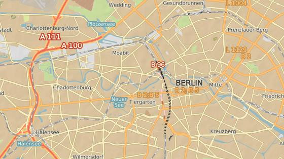Bismarckstrasse, Berlin