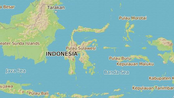 Sulawesi, Indonésie