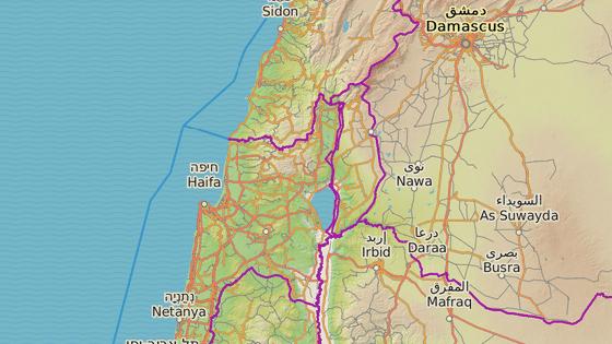 Město Safed na severu Izraele