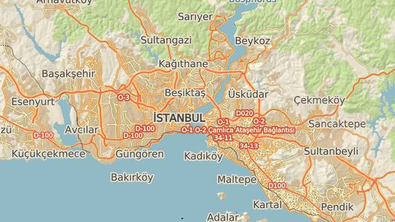 Stadion fotbalového klubu Besiktas Istanbul.