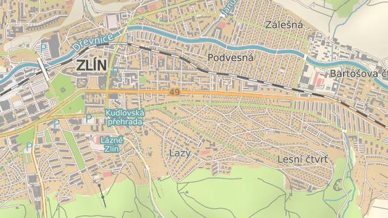 Někteří obyvatelé Příkré ulice ve zlínské Lesní čtvrti chtějí po radnici zregulovat rychlost.