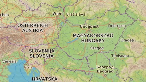 Szigetvár leží nedaleko města Pécs a maďarsko-chorvatských hranic.