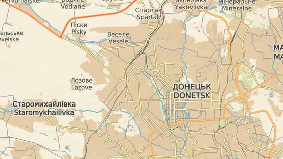 Okťabrskij, Doněck