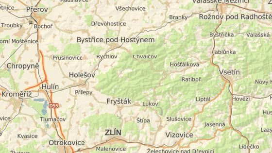 Cisterna havarovala na cestě mezi Bystřicí pod Hostýnem a Loukovem.