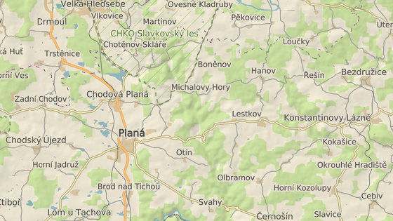 Nehoda se stala na silnici mezi Planou a Chodovou Planou na Tachovsku.