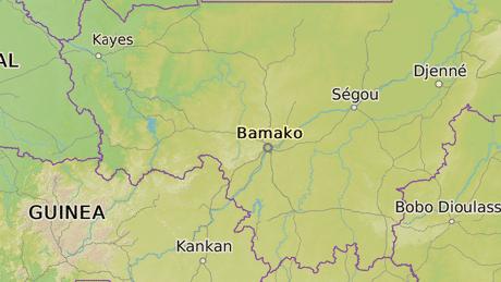 Bamako je hlavní město Mali.