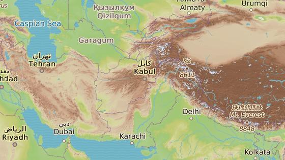 Tachár, Afghánistán