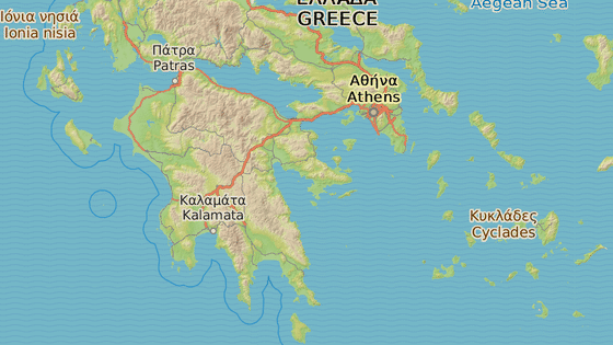 Lýkaion, Řecko